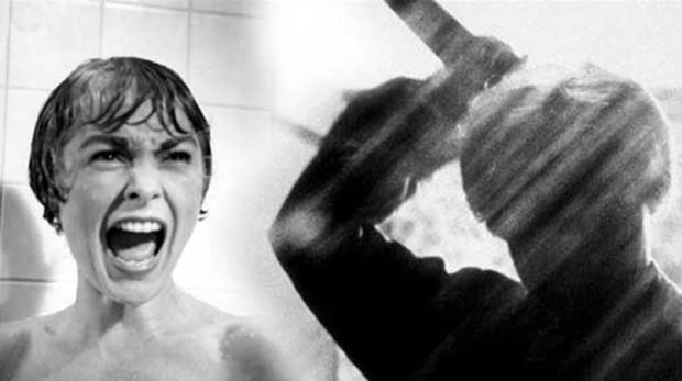 Janet Leight en «Psicosis», de Alfred Hitchcock
