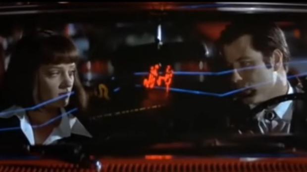 Uma Thurman y John Travolta, en «Pulp Fiction»