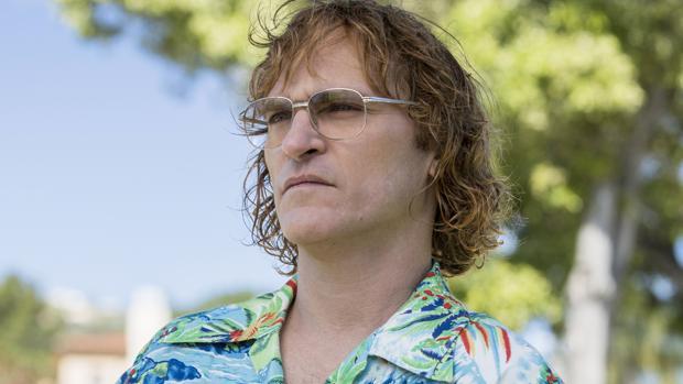 Joaquin Phoenix es de John Callahan en «No te preocupes, no llegará lejos a pie», de Gus Van Sant,
