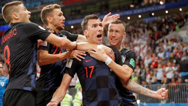 Croacia se impuso finalmente a Inglaterra y disputará la final del Mundial de Rusia