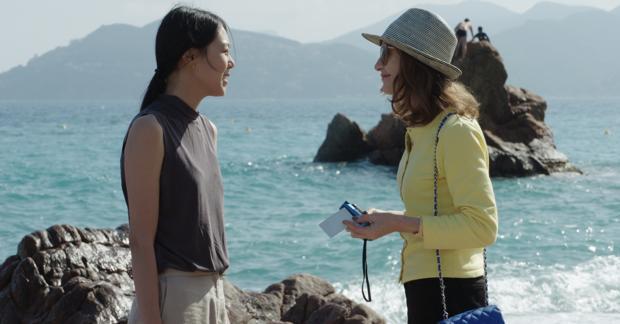 Isabelle Huppert y Kim Min-hee