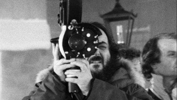 Kubrick en el rodaje de «El resplandor»