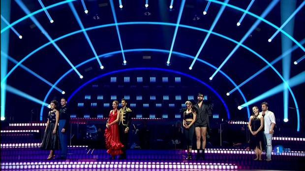 Las cuatro parejas que llegaron a la semifinal de «Bailando con las estrellas»
