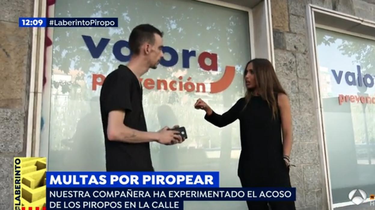 Espejo p blico los piropeadores de espejo p blico afirman que el v deo estaba pactado y - Antena 3 espejo publico ...