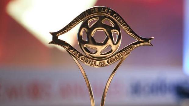 La estatuilla de los Premios Iris