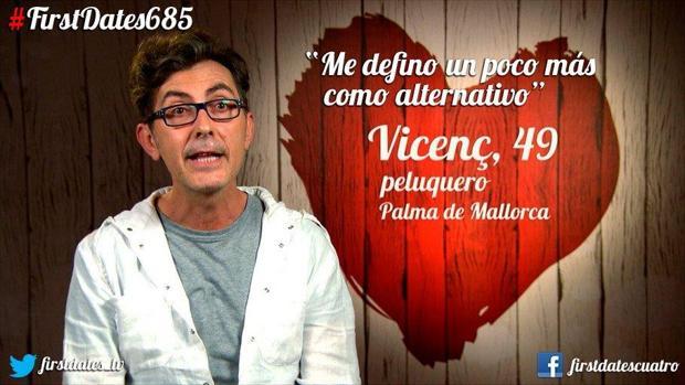 Vicenc y su pareja en «First Dates» tenían gustos musicales irreconciliables