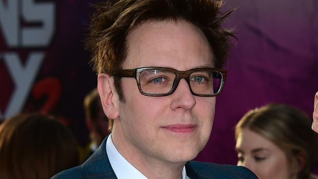 El director James Gunn en la premiere de la película «Guardianes de la Galaxia Vol. 2» en Hollywood, California