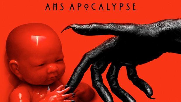 El primer cartel de «American horror story: Apocalypse»