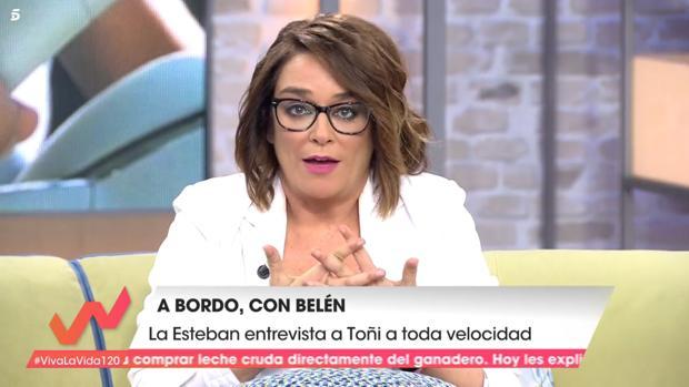 Toñi Moreno en «Viva la vida»
