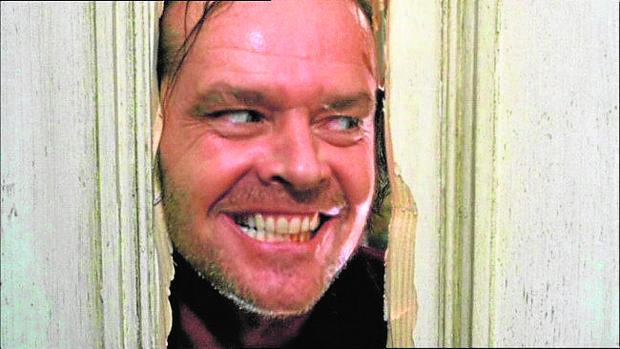 Jack Nicholson, en la secuencia más icónica de «El resplandor»