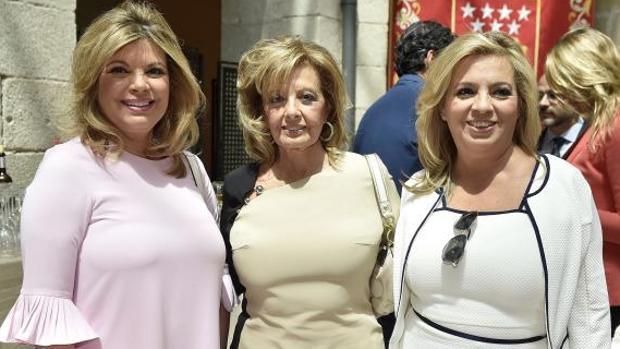 Terelu Campos, María Teresa Campos y Carmen Borrego, las protagonistas de «Las Campos»