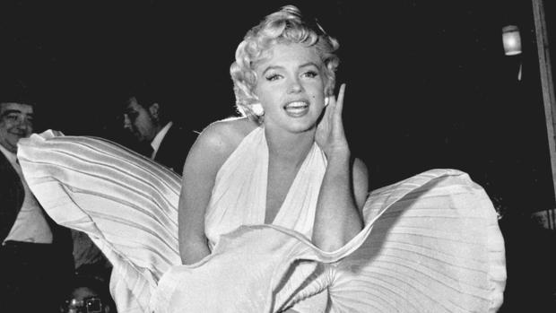 Marilyn Monroe, en «Con faldas y a lo loco»
