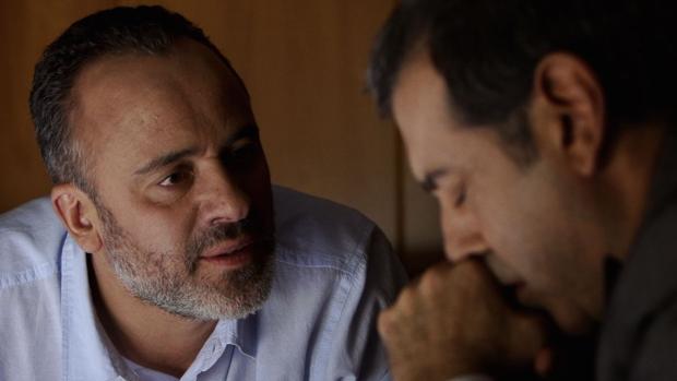Javier Gutiérrez en «La mano invisible», obra Finalista en 2017