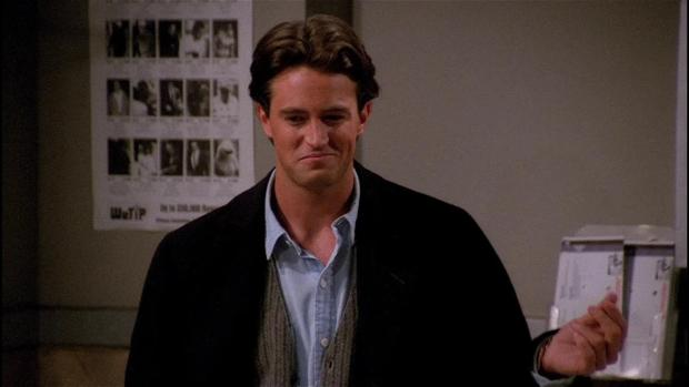 Matthew Perry, en su papel de Chandler Bing