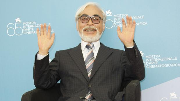 Hayao Miyazaki, en una imagen de archivo