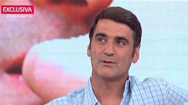 Jesulín de Ubrique, durante una entrevista en TVE