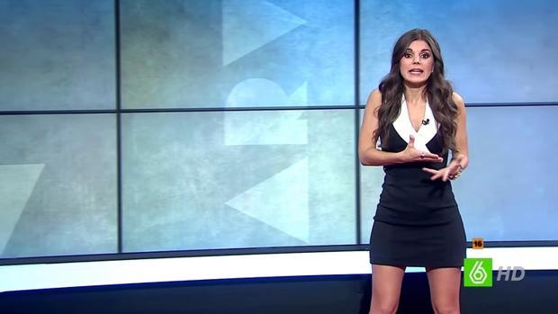 La periodista Lorena Baeza en «Al rojo vivo»