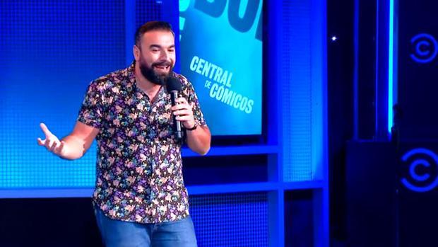 Rober Bodegas, durane el polémico monólogo en Comedy Central