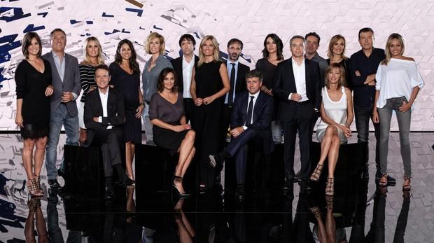 El equipo de «Antena 3» noticias arranca hoy temporada con un nuevo plató