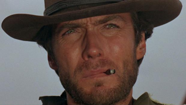 Clint Eastwood en «Por un puñado de dólares», la cinta más vista de de «Historia de nuestro cine»