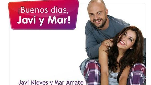 Javi nieves y Mar Amante son los presentadores de «Buenos días, Javi y Mar» en Cadena 100