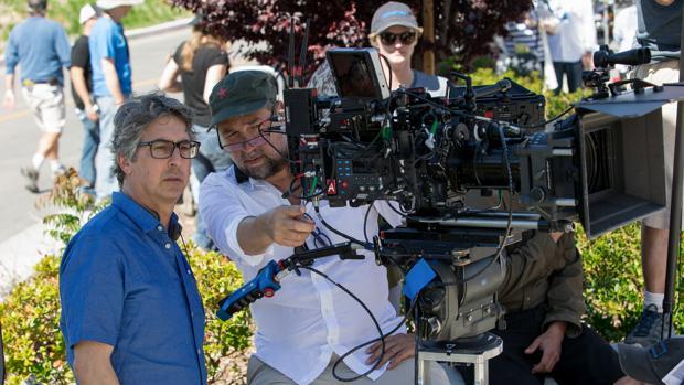 Alexander Payne en el rodaje de «Una vida a lo grande»