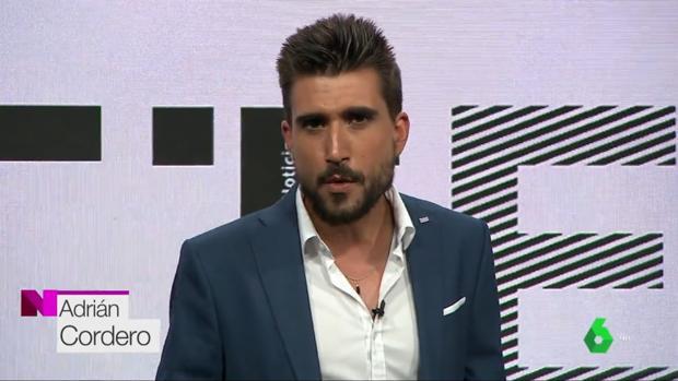 Adrián Cordero en el programa «Estación laSexta»