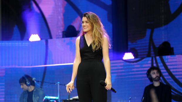 Amaia Romero, en un concierto reciente