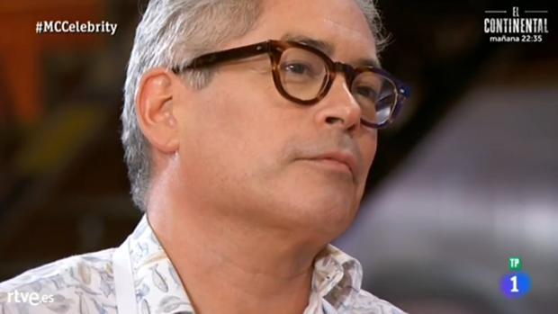 Boris Izaguirre habla con Saúl Craviotto en «MasterChef Celebrity»