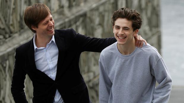 El veterano Steve Carell y el joven Timothée Chalamet, protagonistas de «Beautiful Boy»