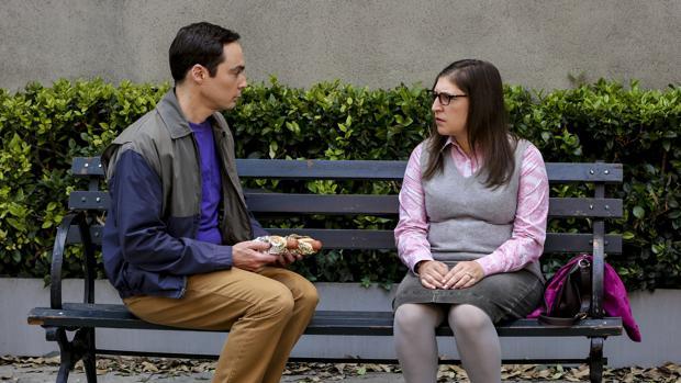 Sheldon y Amy, en su luna de miel