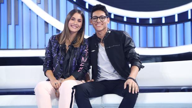 Sabela y Alfonso, en «OT 2018»