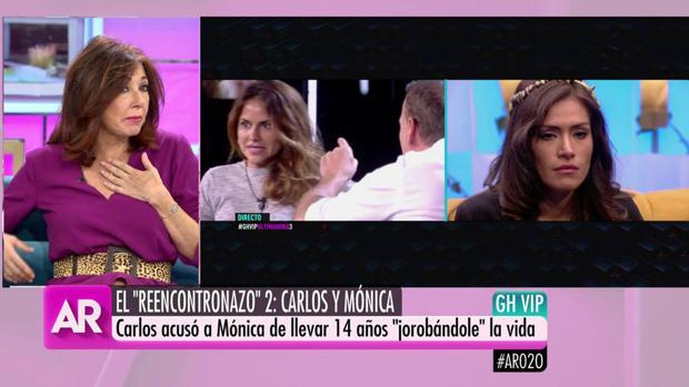 Imágenes de Ana Rosa y GH VIP