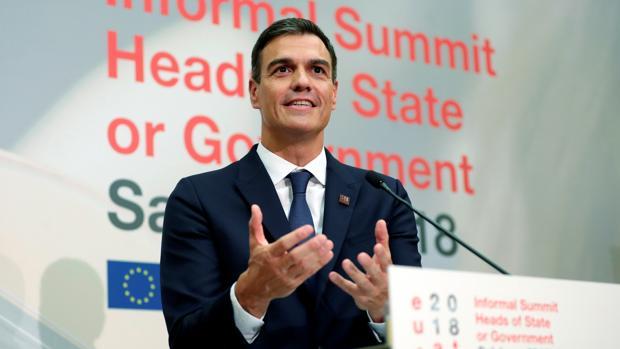 Pedro Sánchez, en una comparecencia reciente en Salzburgo