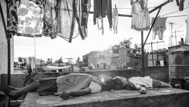 Escena de «Roma», de Alfonso Cuarón