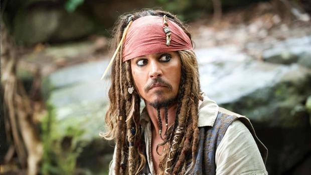 Johnny Depp, en el papel de Jack Sparrow