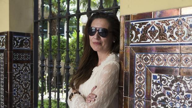 Ana L. Martín, directora de «El Crucigrama de Jacob», posa para ABC durante una entrevista el pasado año