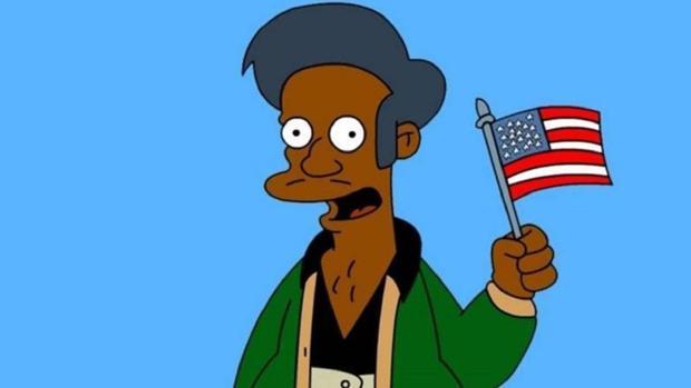 Apu en «Los Simpson»
