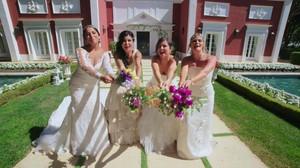 Un bodorrio «low-cost» se impone en «Cuatro Weddings»