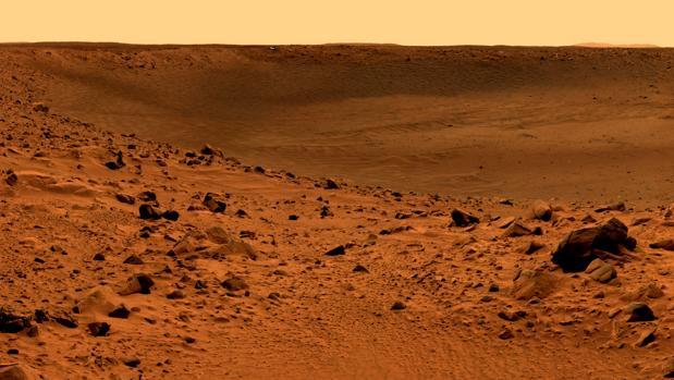 Una imagen documental de la serie Marte