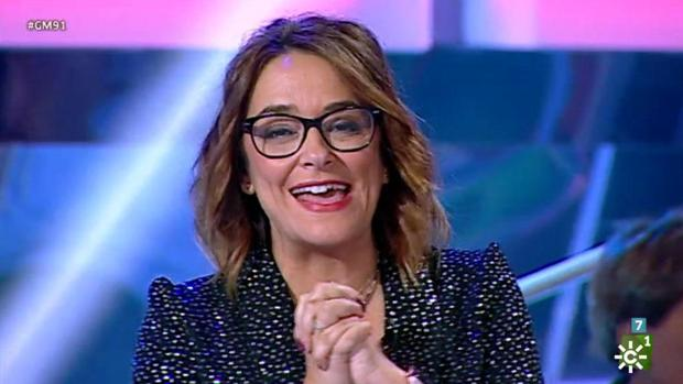 Toñi Moreno, en «Gente Maravillosa»