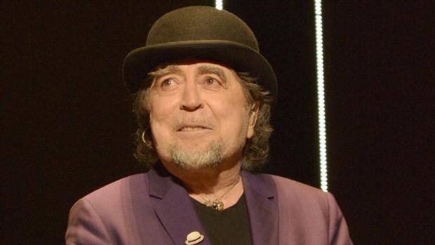 El cantante Joaquín Sabina