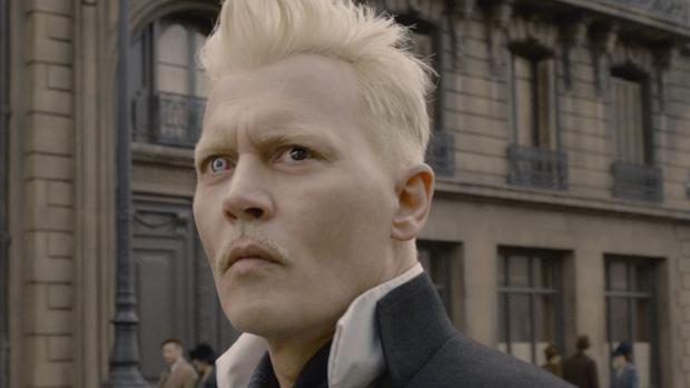 Johnny Depp es Grindelwald en Animales fantásticos