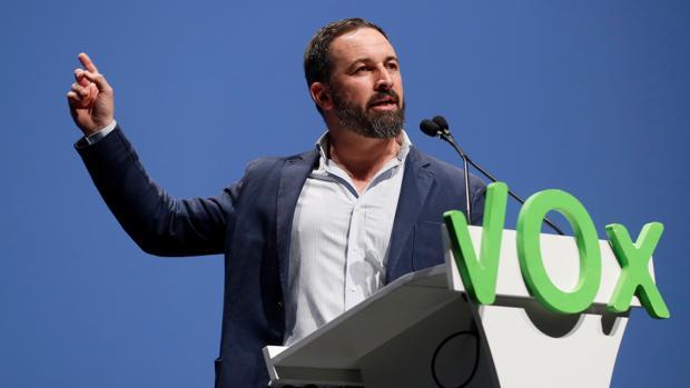 Santiago Abascal, en una imagen de archivo