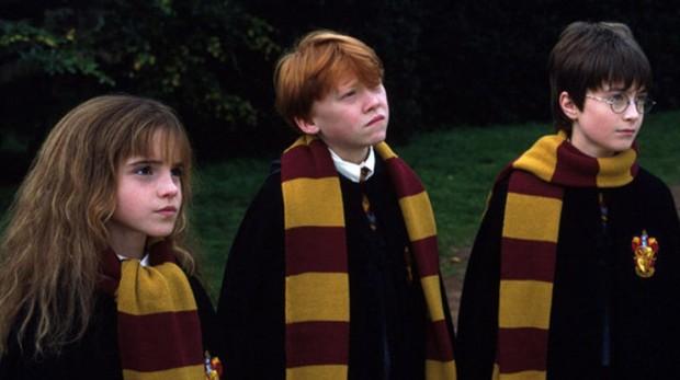 Hermione, Ron y Harry Potter