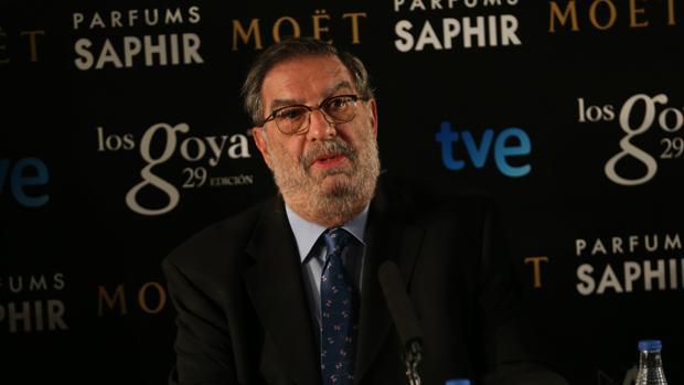 El productor Enrique González Macho fue presidente de la Academia de Cine entre 2011 y 2015