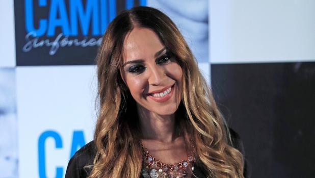 Mónica Naranjo, durante la presentación del nuevo álbum de Camilo Sesto