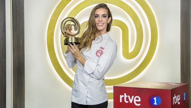Ona Carbonell, ganadora de MasterChef Celebrity