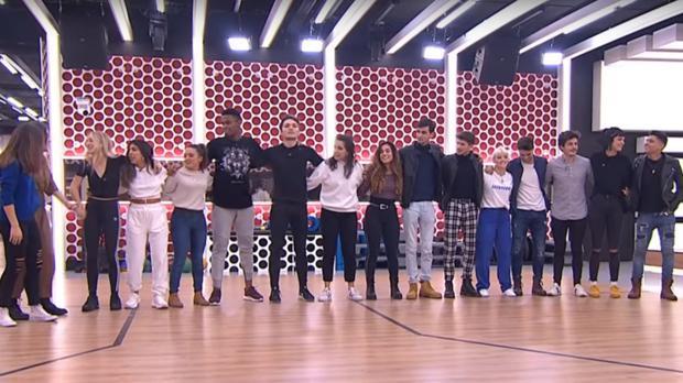 Los dieciséis concursantes de «OT 2018», este martes
