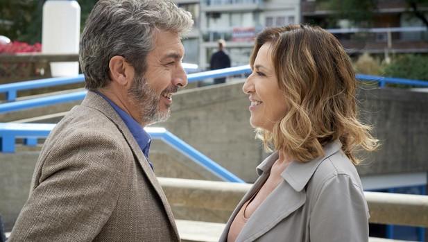 Ricardo Darín y Mercedes Morán en «El amor menos pensado»